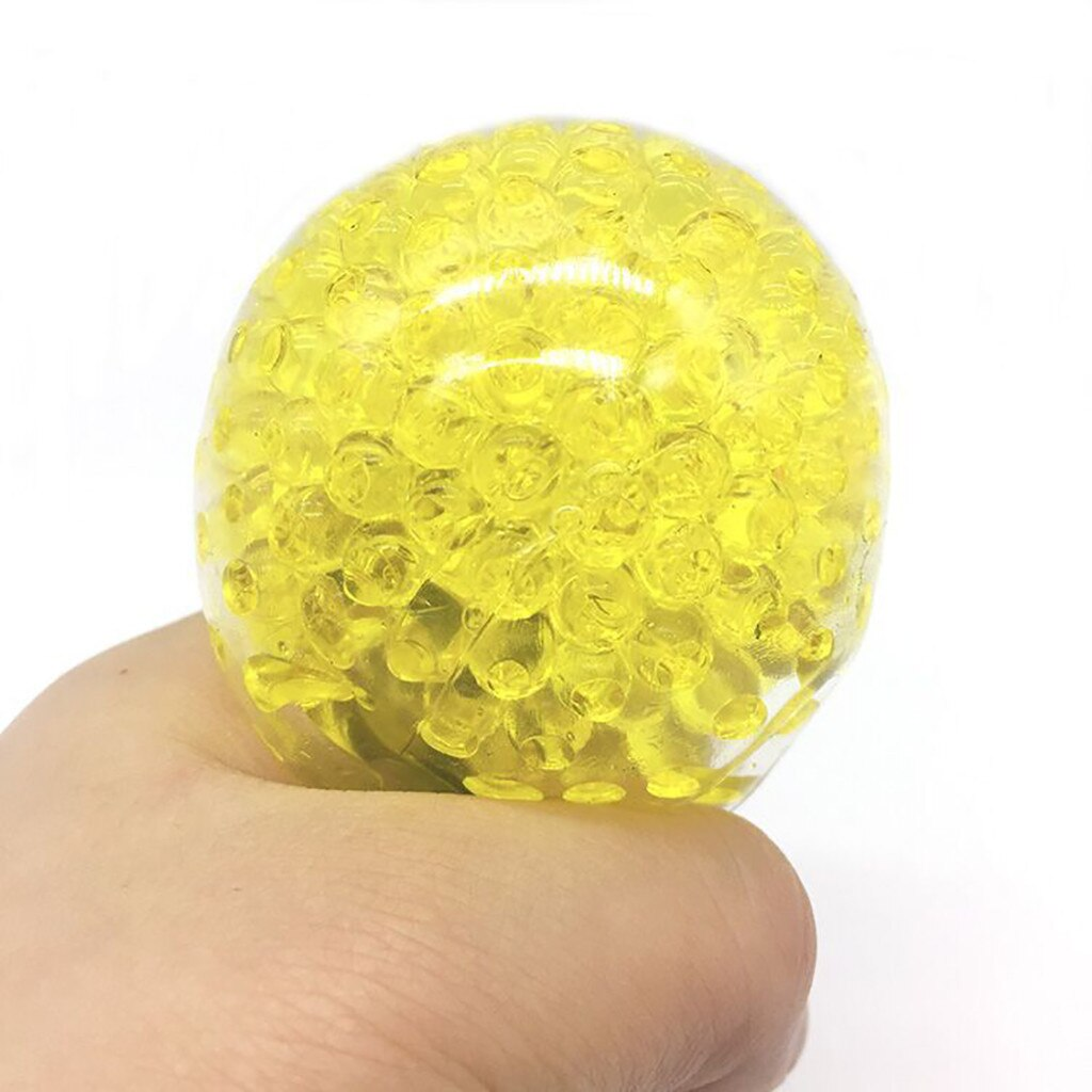 Squeeze Toys Banana beaded stress relief toy Classic Spongy Stress toy Ball Toy Stress Relief Modern Parent-child Interactive enlarge
