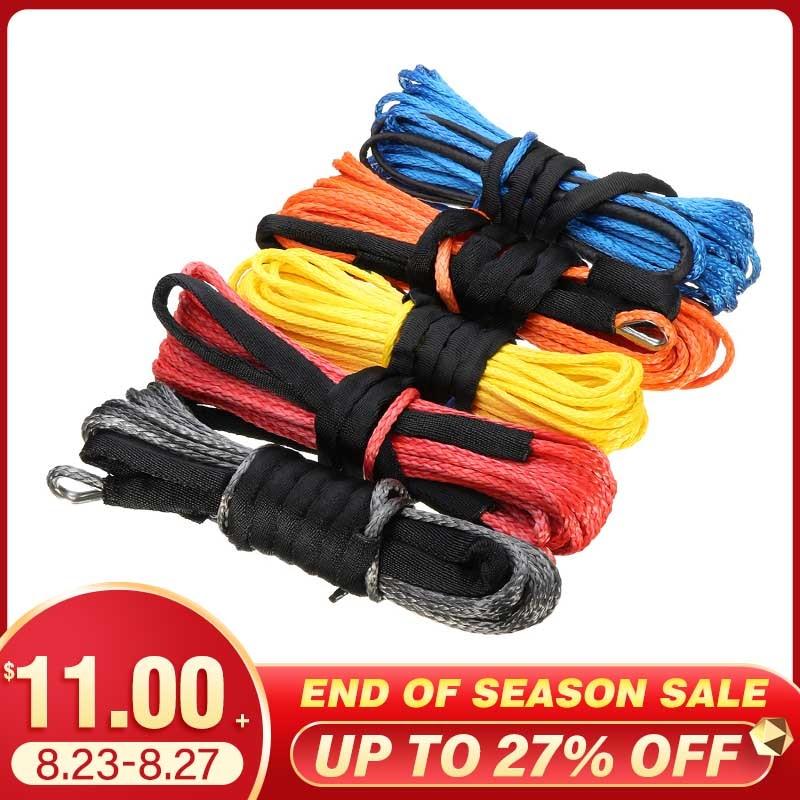 Cable de remolque de 15m 5mm/5,5mm/6mm, cuerda de Cable, línea de cuerda...