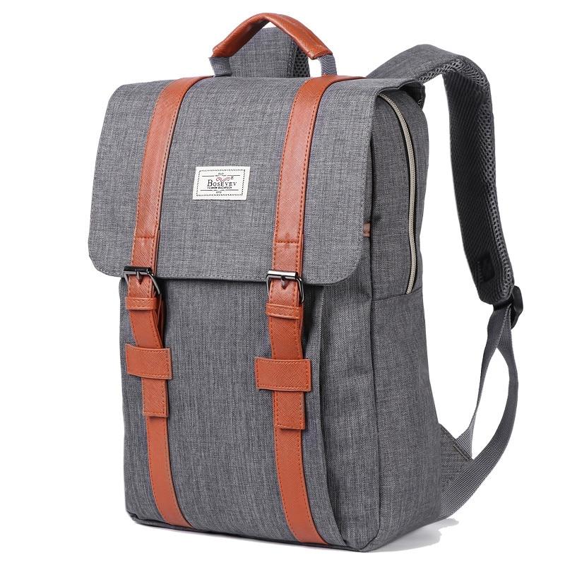 حقيبة ظهر قماشية كلاسيكية للرجال والنساء ، حقيبة ظهر للكمبيوتر المحمول ذات سعة كبيرة ، للمراهقين ، الأولاد والبنات ، عصرية ، 2020