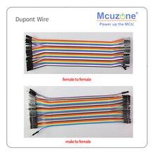 Cable Dupont, 20cm 40 uds, útil para ingenieros electrónicos