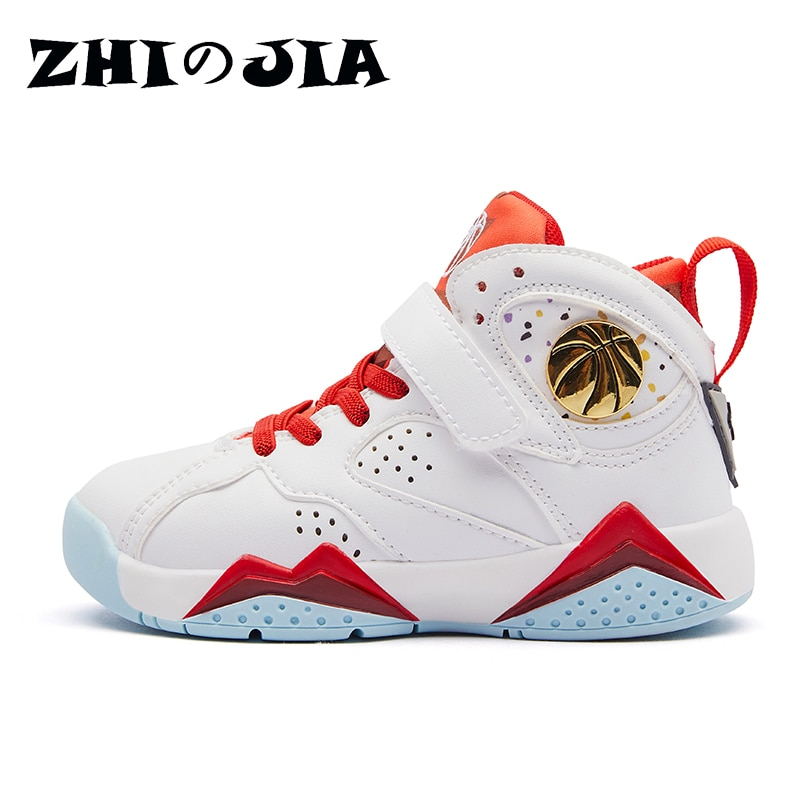 2021New Sneakers Children's Basketball Shoes for Boys Non-slip Kids Sport Shoes Boys Sneakers Outdoo