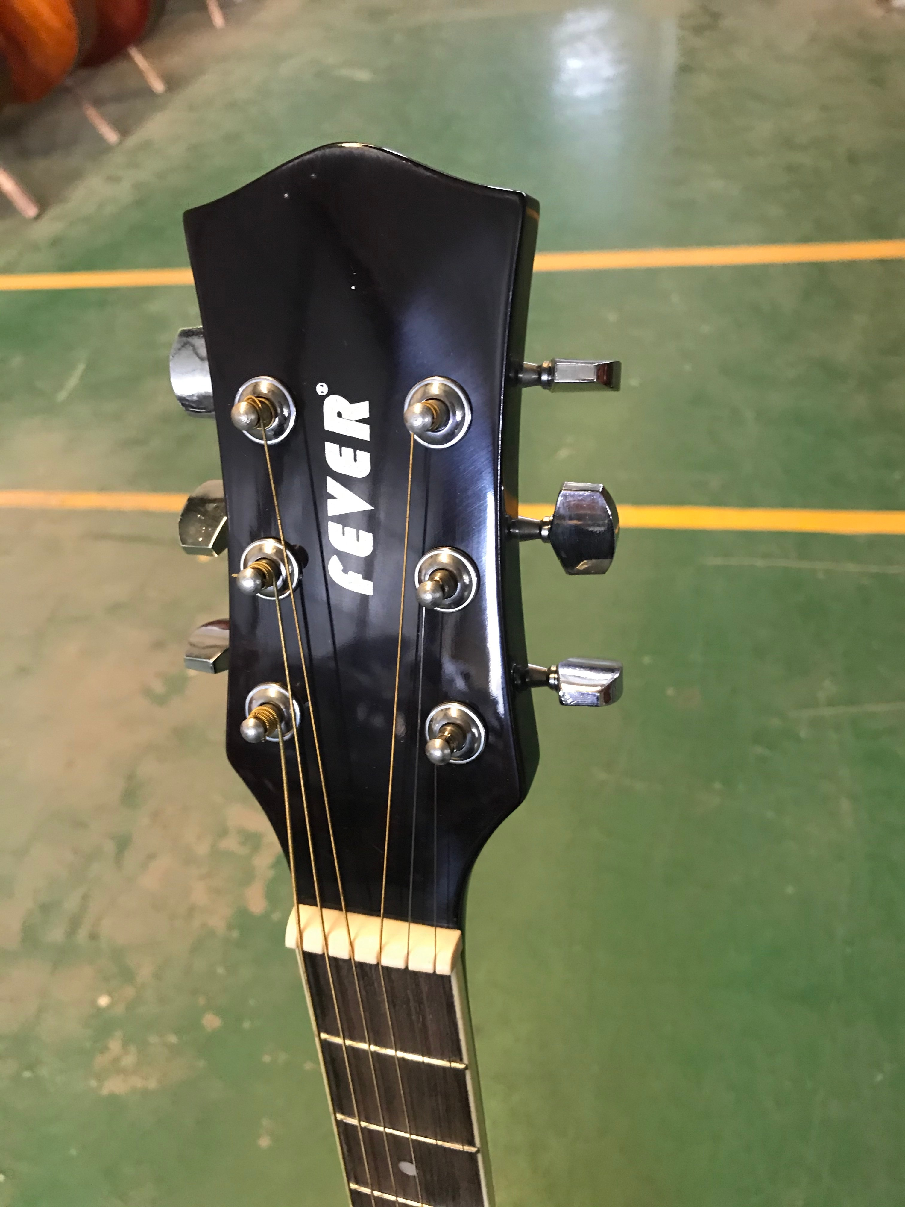 Hand Carved 41Inch 21 Fret Full Solid Wood Acoustic Thin Body Guitar 6 Strings High Quality Gloss Wood Folk Guitar enlarge