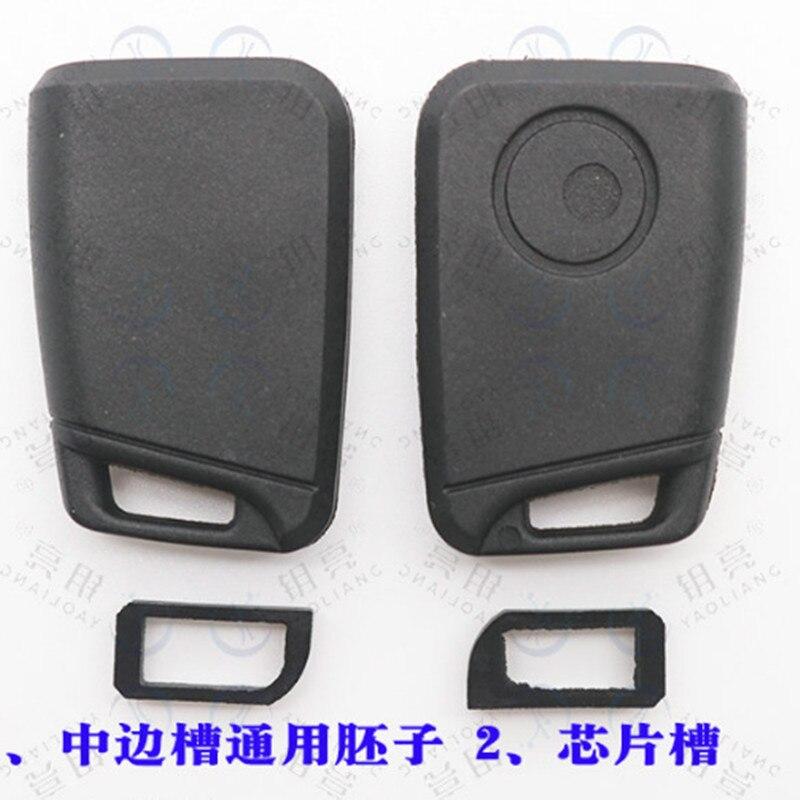 DAKATU universal transponder schlüssel kopf schlüssel fall shell für KD VVDI klinge ohne klinge Für VW GOLF Version