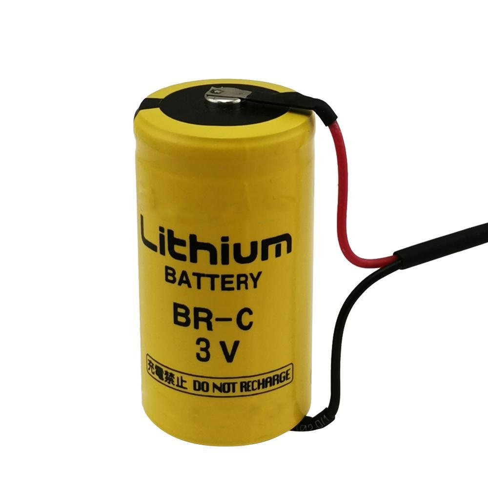 BR-C Original FANUC A98L-0031-0007 PLC CNC batería de respaldo de memoria Industrial con enchufe C 3V batería de litio