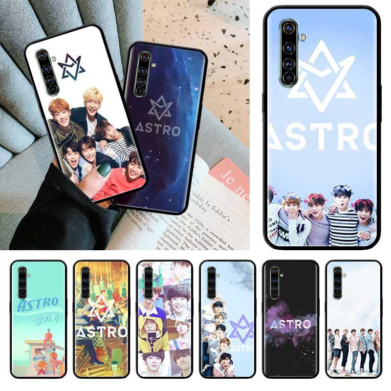 Astro Kpop negro Tpu Capa para Realme 6 6i 5 5i C3 XT X2 Pro X50 5G Narzo 10 10A casos Sac carcasa suave para teléfono
