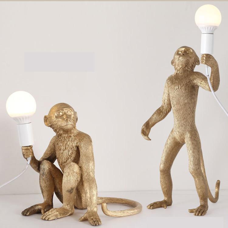 Led Tisch Lampe Schlafzimmer Beleuchtung Führte Wand Licht Für Wohnzimmer Home Decor Wand Leuchte Leuchte Affe Pandent Licht