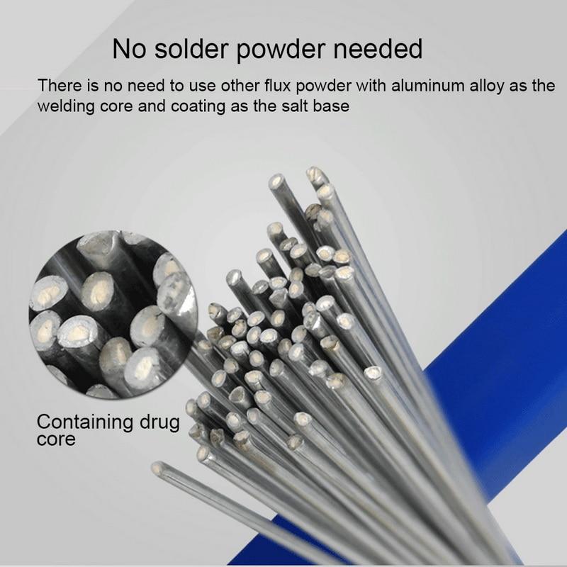 10/20/30/50 Pcs Aluminum Soldering Electrode Multitool  Temperature Welding Wire (No Flow)