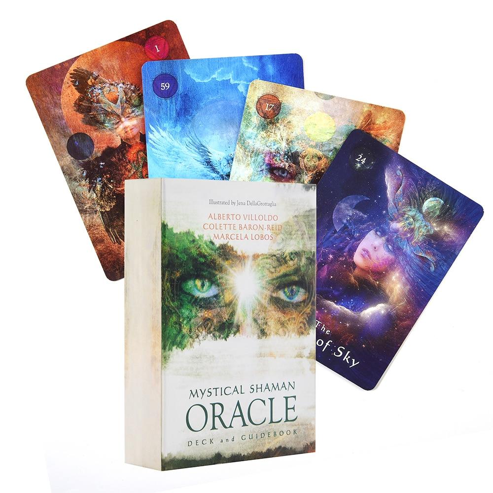 Мистический шаман Oracle карты Таро Oracle карты