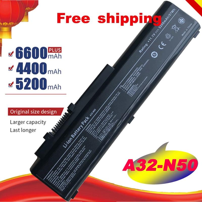Bateria A32-N50 6 célula para asus n50 pro n50v, bateria A33-N50 para asus n50v n50vr n50a n50e n50f n50t n51a n51 v «n51 tp» n51 vg n51 vn navio grátis