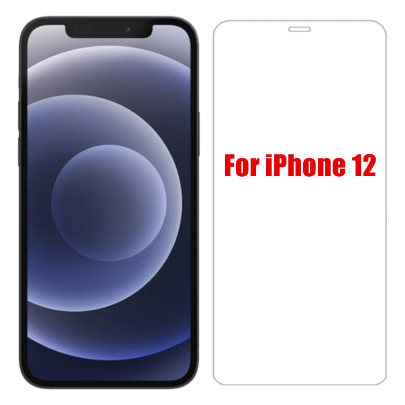 Фото - 2 шт. 9H Защитное стекло для экрана iphone 12, закаленное стекло для смартфона Apple iPhone12, защитное стекло защитное стекло
