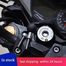 Motorcycle 1 Inch Ball Handlebar Clamp Base For For RAM-B-367U For Kawasaki Auto Vehicle Phone Holder Bolt Bracket Accessories