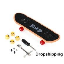 Plastique Mini doigt planche à roulettes jeu de Table jouet enfants alliage planche à roulettes enfants doigt planche à roulettes touche Scooter Skate