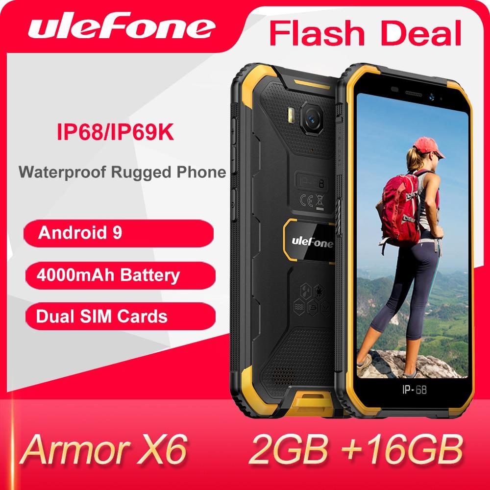 Смартфон Ulefone Armor X6 2+16ГБ, 2 цвета