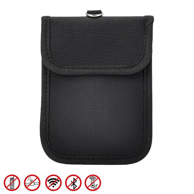 Funda protectora para llaves, seguridad de señal, Mini RFID, portátil, 13,5*9cm