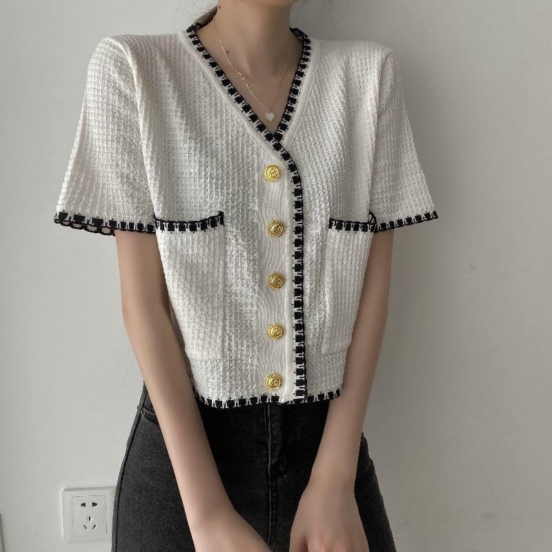 short sleeve women coat for summer 8346#