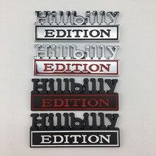 3D alliage de métal Hillbilly édition emblème Badge voiture autocollants Auto garde-boue queue carrosserie décalcomanies accessoires de voiture pour Ford F1500 F2500RAM