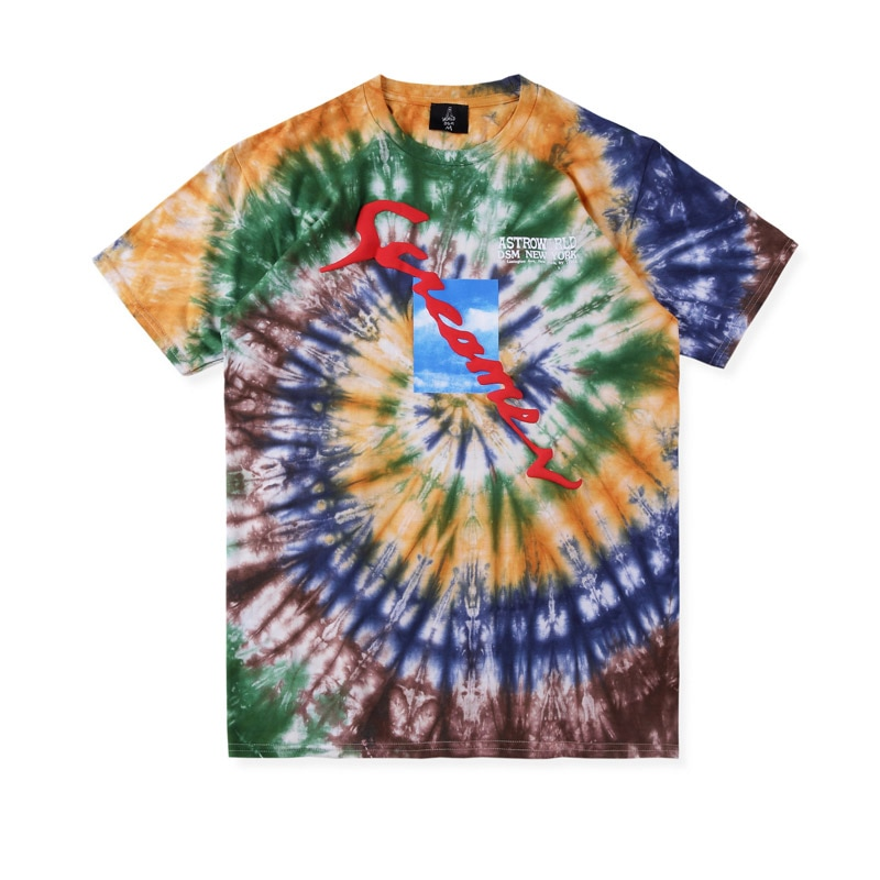 kanye west 19SS 3D three-dimensional printing Street wear Tee T shirt Men Women 1:1 High quality Tie dyeing Hip Hop t-shirts