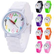 2021 Children Wrist Watches Intelligent Digital Fashion Kids Watches Pencil Pointer Quartz Boys Girl