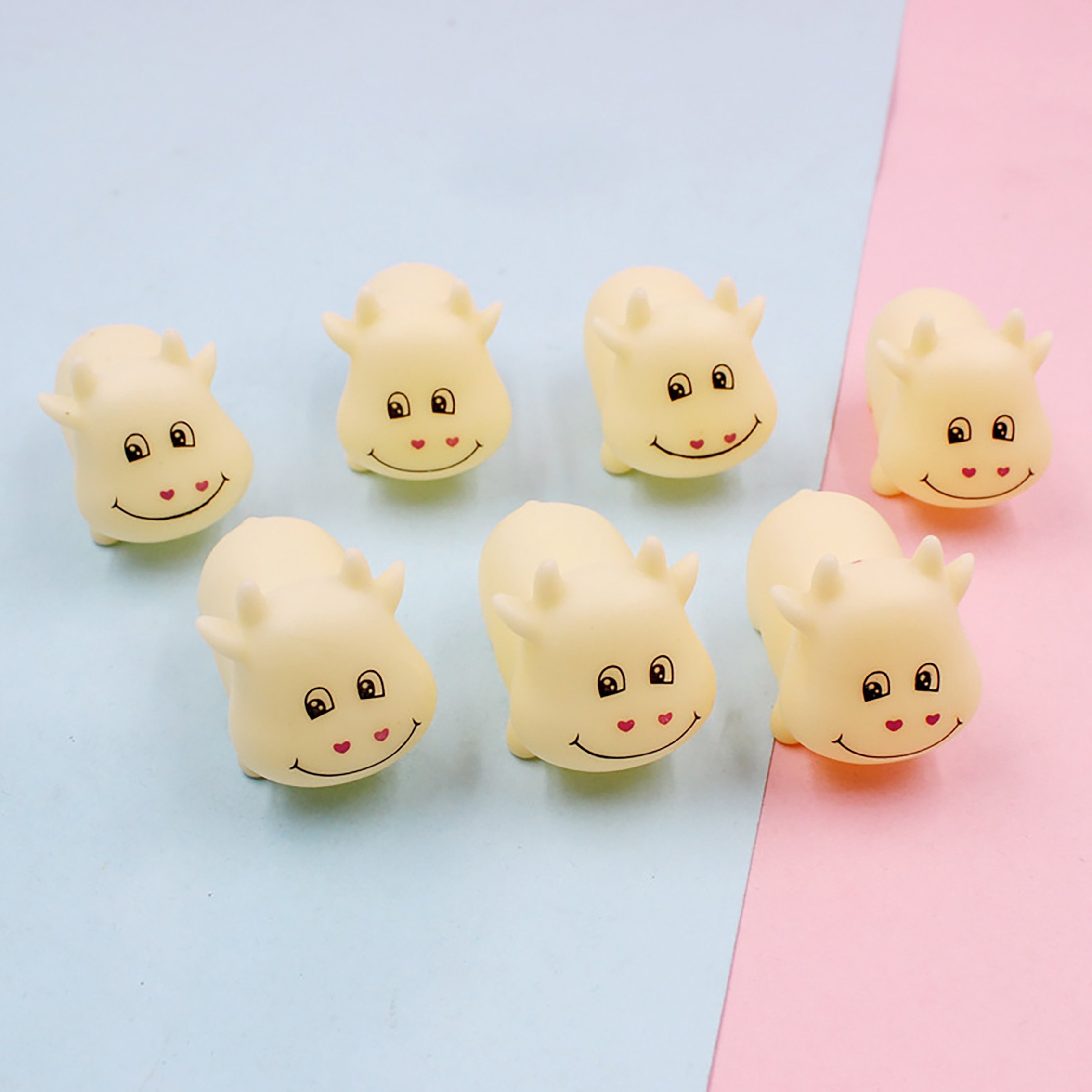 Cute Super Cute Calf Kneading And Shouting Enamel Toys Decompression Vent Toys Kneading And Happily