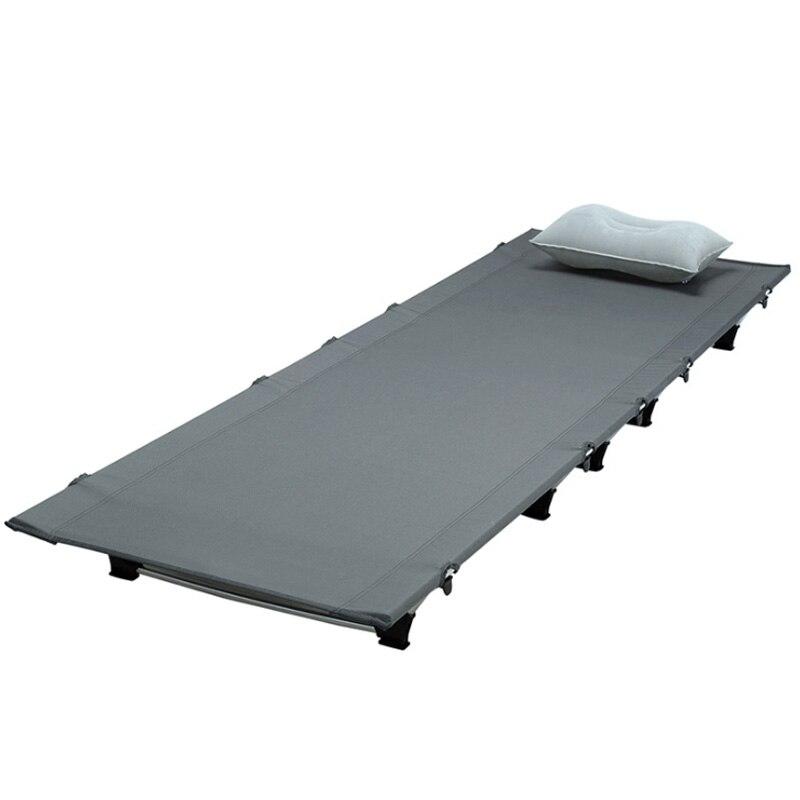 Tienda plegable ultraligera cama cuna portátil compacta para viajes al aire libre Base campamento senderismo montañismo Camping cama cuna