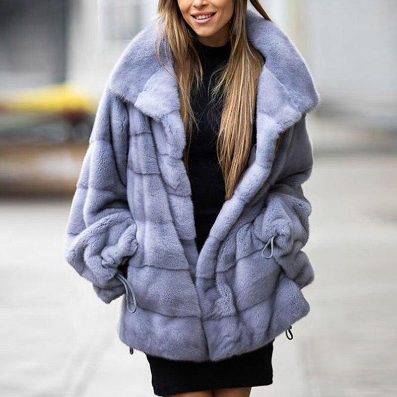 موضة ريال فرو منك معطف الشتاء امرأة فاخرة معاطف الفراء 2021 جديد الطبيعية بيلت كامل حقيقي فرو منك معاطف مع الوقوف طوق