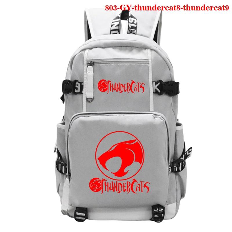 Backpack Men Women Girls Bag Teen Boys School Laptop Rucksack Children Travel Shoulder Bag Rucksack Thundercat Print Backpacks недорого
