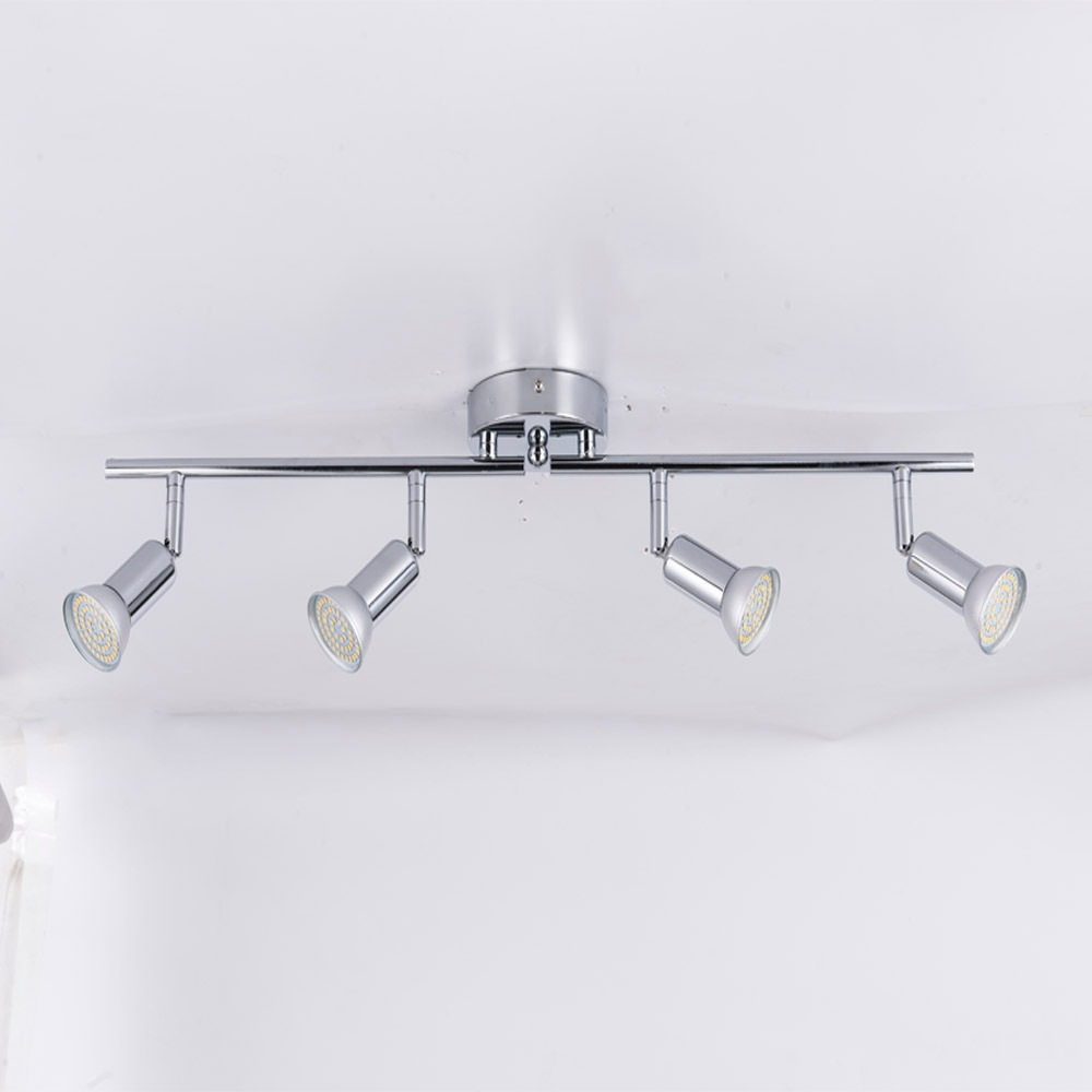 Rotatable Kitchen Ceiling Light Angle Adjustable GU10 LED Bulbs bar lamp Showcase Wall Sconces Living Room Cabinet Spot Lighting