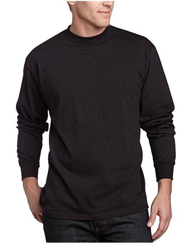 Camisa masculina de manga comprida t homem casual moda imprimir magro t-shirts fitness treino camisetas topos jogger roupas