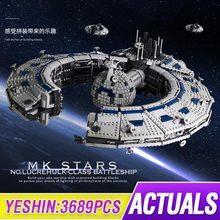 MOC Star Toys Wars Destroyer Lucrehulk klasa pancernik Droid Control Ship kompatybilny MOC 13056 klocki budowlane prezent 13056