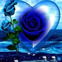 Peinture de diamant  fleur de rose bleue   broderie complete 5D  point de croix  mosaique  decor de maison  a bricolage soi-meme
