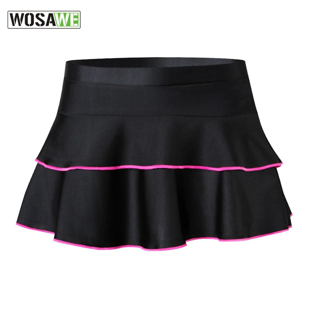 WOSAWE Womens Motorcycles Cycling Shorts 3D Padded Cycling Mini Skirts Underwear Mountain Downhill Bike Bicycle Cycling Shorts enlarge