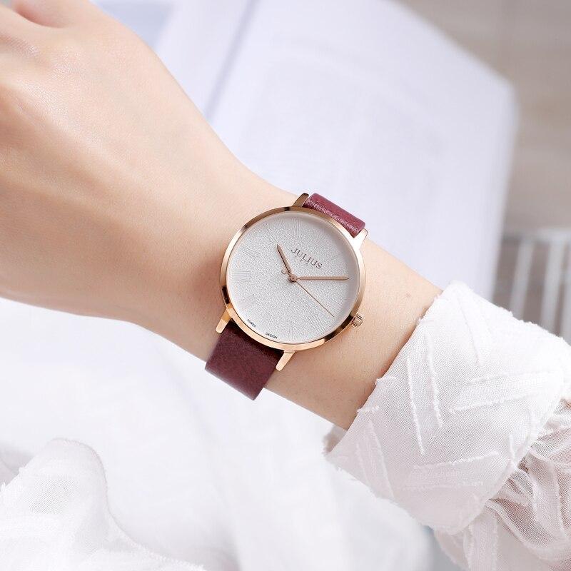 Модные красивые часы для молодых девушек, женский простой кожаный браслет для девушек, часы, ежедневное время, женский подарок, Топ
