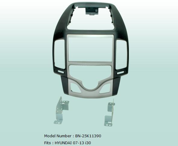 Auto Blenden Stereo Radio Audio Panel Navigation Rahmen Dash Kit Für Hyundai i30 2007 2008 2009 2010 2011 2012 2013