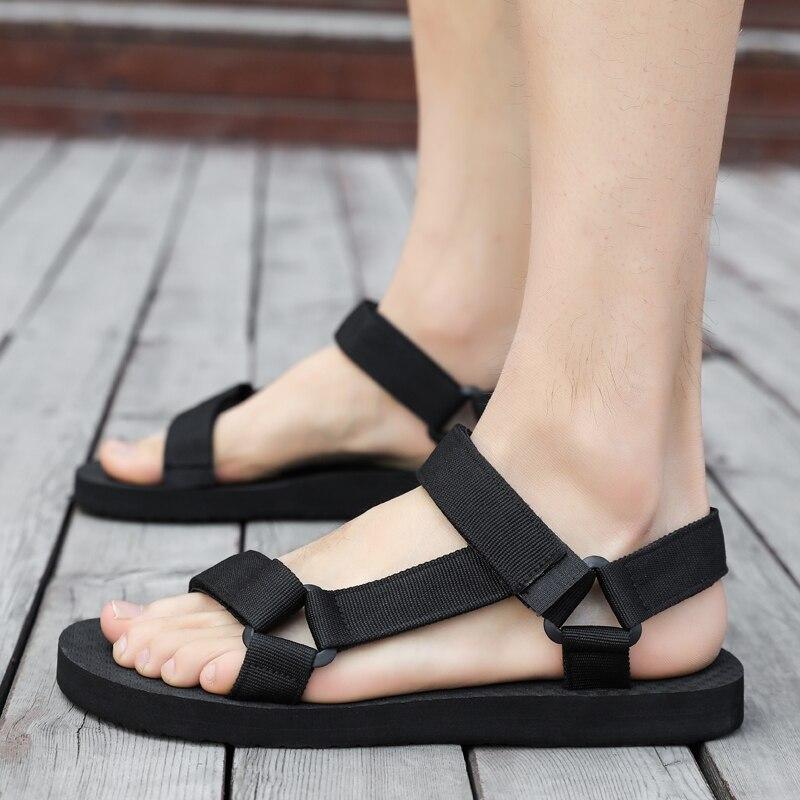AODLEE, sandalias De verano para Hombre, Zapatos informales De gladiador para playa, zapatillas para Hombre, chanclas De agua deportiva, Sandalia Masculina, Zapatos De Hombre