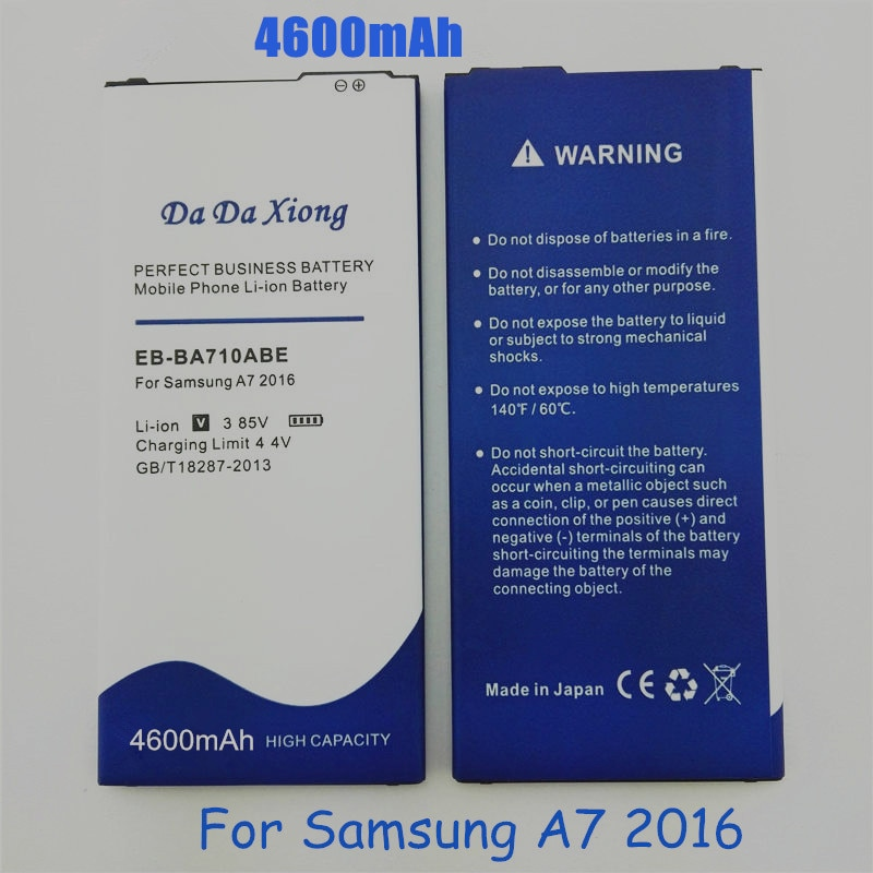 EB-BA710ABE 4600mAh For Samsung GALAXY 2016 Edition A7 A710 A710F A7100 A7109 Battery