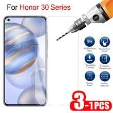 1-3Pcs HD Screen Protector Tempered Glass For Huawei Honor 30 S Global Protective Glass Safety Glass