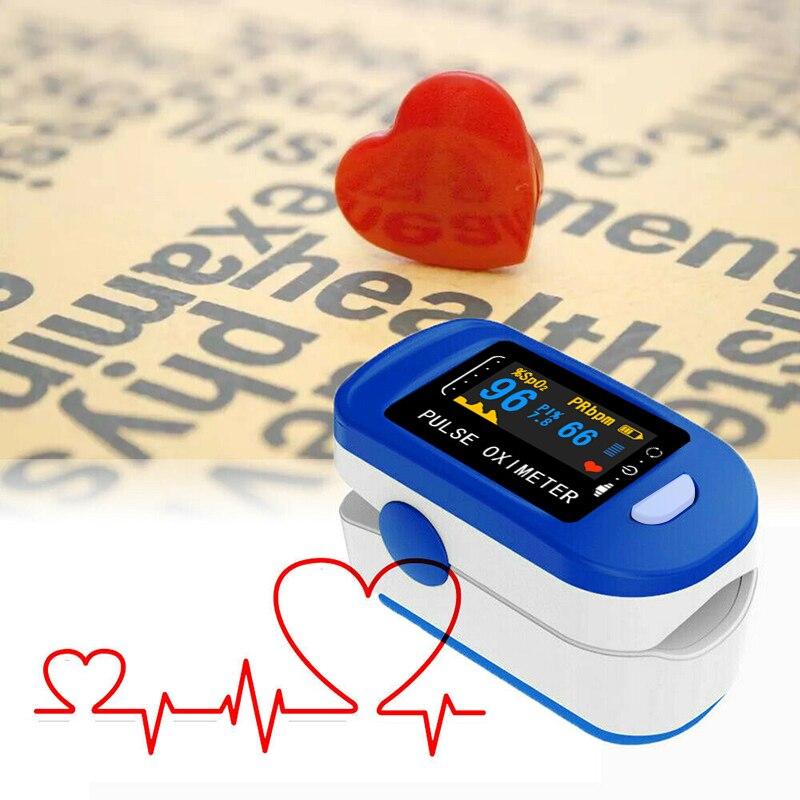 SPO2 PR Monitor health Care Medical Household Digital Fingertip pulse Oximeter Oxygen Saturation Meter Monitor Pulse Oximeter
