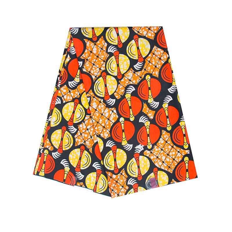 african New 2021 Ankara cotton African wax Fabrics Nigerian Print Fabric High Quality Ghana For dresses
