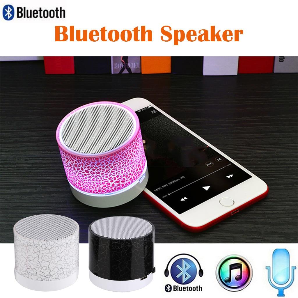 Minialtavoz Bluetooth estéreo con luz Led, reproductor De Mp3 inalámbrico portátil, tarjeta...