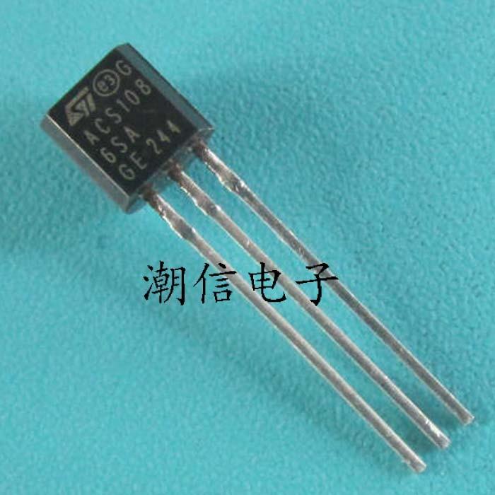 10cps Acs1086s acs108-6sa SCR commutateur AC 0.8A