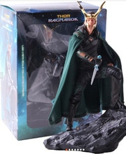 Vengadores Marvel Comics Loki Ragnarokr figura de acción 25cm Loki Edición Limitada figuras de acción juguete Anime figura juguetes para niños regalo