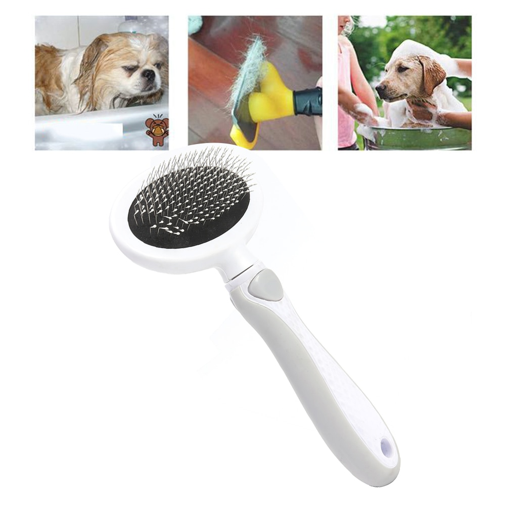 Gato cão depilação pente agulha pet filhote de cachorro aberto nó encaracolado corte de cabelo escova animal limpador de cabelo acessórios do gato