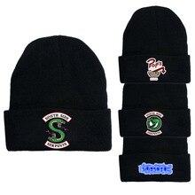 Riverdale Winter Hat Beanie Cotton Knit Hat Skullies Beanie Hip Hop Outdoor Streetwear Hats Christma