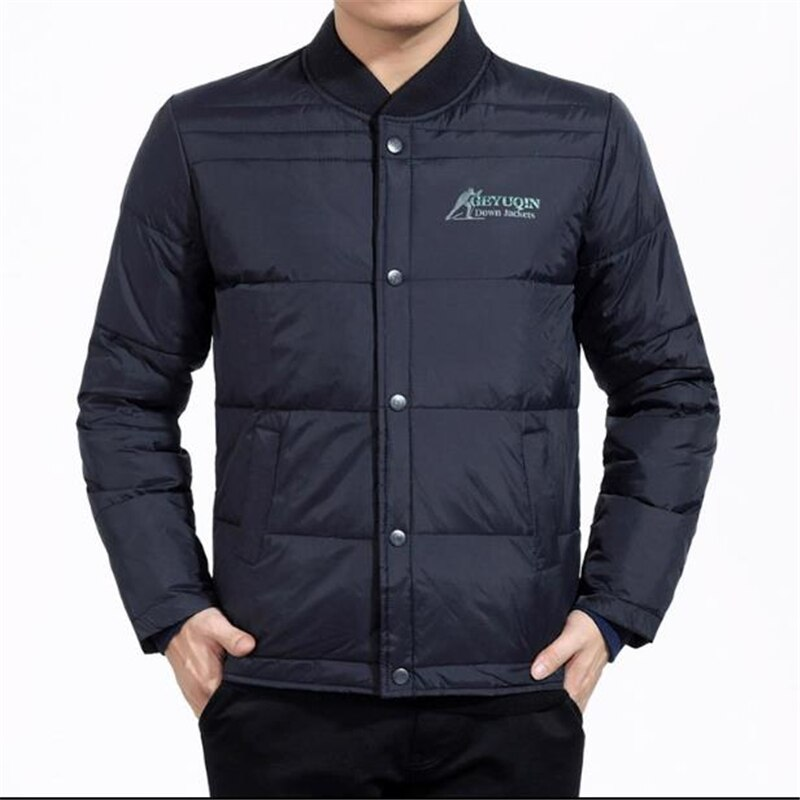 Man Spring Plus Size 85% White Duck Down Parkas Male Autumn Duck Jacket Men Winter Oversized Down Do
