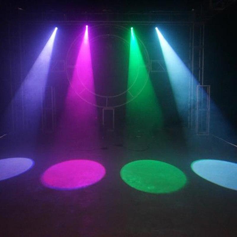 Proyector de foco LED de pines Mini para escenario, foco de 5W, para fiesta en casa, tienda, espectculo de DJ, discoteca enlarge