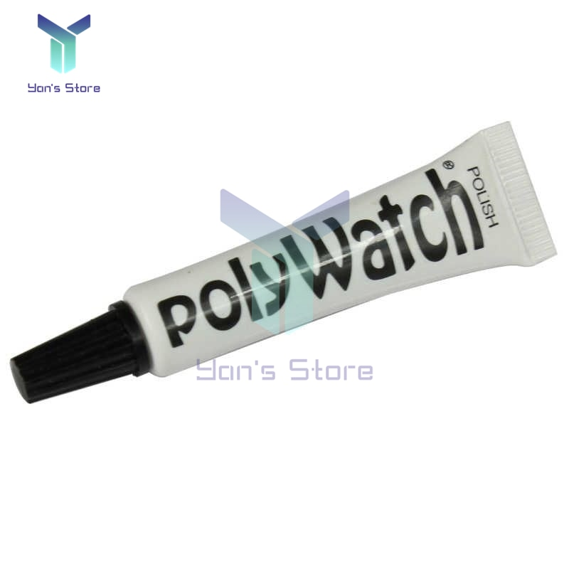 1Pcs 5g Repair Tool Polywatch Watch Plastic Acrylic Watch Crystals Glass Polishing Paste Scratch Remover Glasses Repair Vintage ossieao new watch glass polishing kit glass scratch removal set acrylic sapphire crystal
