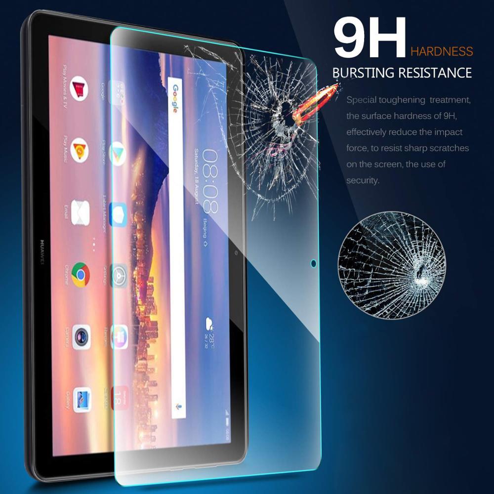 Película de vidrio templado 9H, Protector de pantalla para Huawei MediaPad T5 10,1 T3 10 9,6 T3 7,0 WiFi 3G T3 8,0 T1 7,0 701U t1 8,0 S8-701U