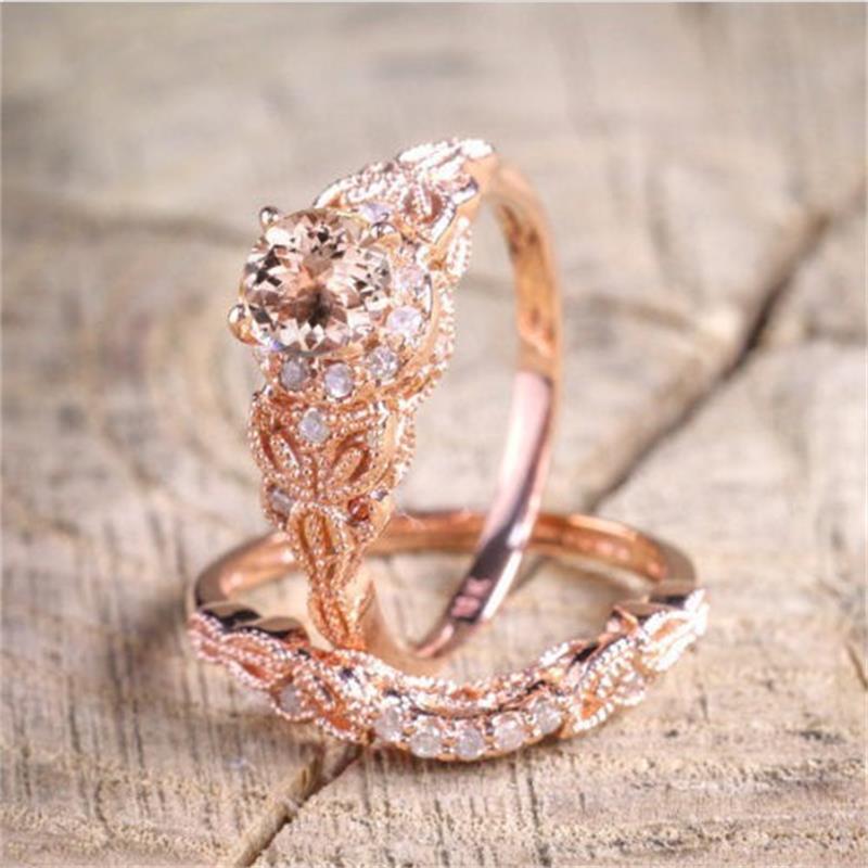 Anillo de hombre pierenciki damskie, anillo de boda de circón, anillo de...
