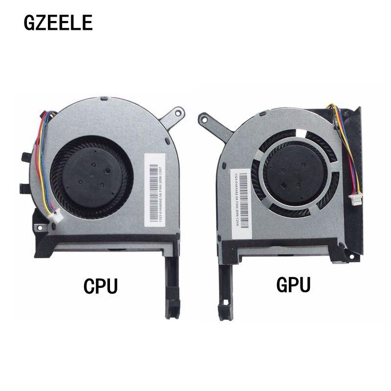 [해외] ASUS FX705 FX705G FX705GM FX86 FX86SM FX505 FX505D FX505DU 노트북 냉각 팬 17.3 용 새로운 CPU GPU 냉각 팬 쿨러