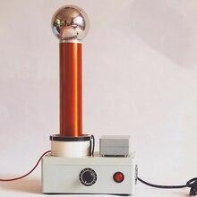 Principe de Transmission sans fil à ca à haute fréquence de démonstration simulateur de foudre détincelle de bobine desla